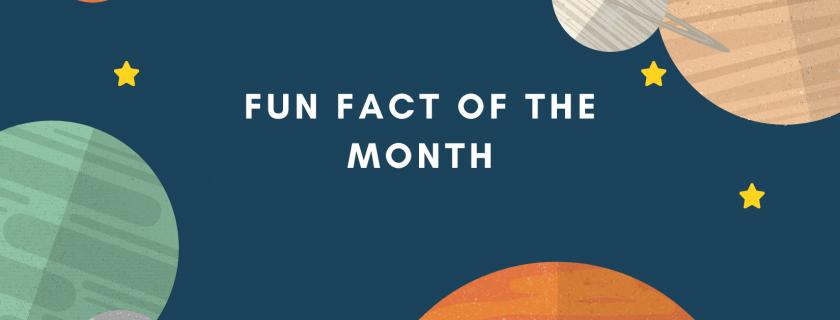 Fun Fact September Edition